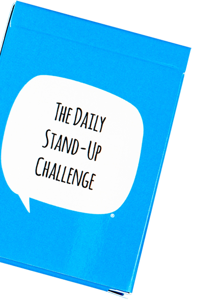 daily standup challenge book parallax