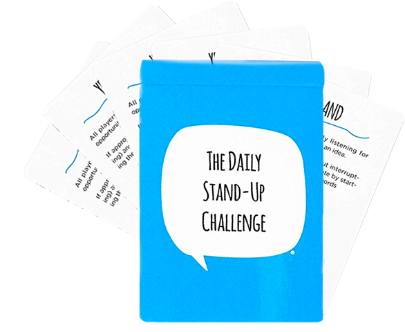 daily standup challenge card pack